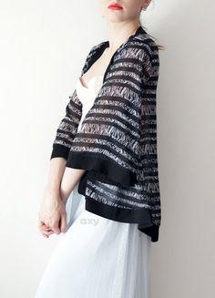 Kup mój przedmiot na #vintedpl http://www.vinted.pl/damska-odziez/peleryny-narzutki/18894758-3-za-2-narzutka-mgielka-z-pasy-i-zebre