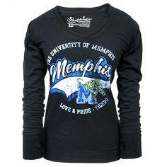 Women's 'Love & Pride' Memphis Tigers T-Shirt