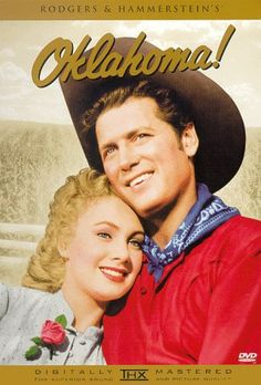 OKLAHOMA! (1955) In the Oklahoma territory at the turn of the twentieth century, two young cowboys vie with an evil ranch hand and a traveling peddler for the hearts of the women they love.