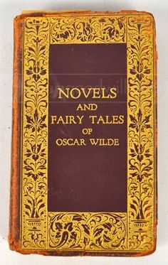 Antique Book Novels and Fairy Tales of Oscar Wilde