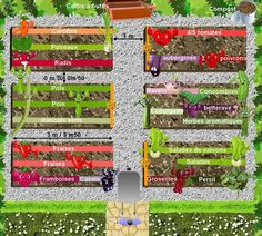 Garden Planning 50084 vegetable garden plan: creating an organic vegetable garden