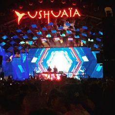 .@ushuaiaibiza with @axwell @ingrosso #Ibiza #rave #party #paradise