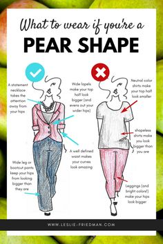 fashion tips How to dress an INVERTED TRIANGLE Shape Leslie Friedman Consulting: Fashion, Personal Branding, and Communication Resources Pear Shaped Celebrities, Pear Shaped Women, Pear Shaped Bodies, Celebrities Hair, V Shape Body, Triangle Body Shape, Pear Shaped Dresses, Pear Shaped Outfits, Apple Body Shape Outfits