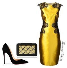"""Image result for """"Red & Gold Morning"""" by acaguiar on Polyvore"""
