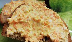 Mrkvová pomazánka | recept na vynikající zeleninovou pomazánku Cooking Recipes, Healthy Recipes, Healthy Food, What To Cook, Ham, Potato Salad, Mashed Potatoes, Food And Drink, Homemade