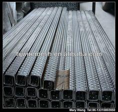 Perforated Metal Stair Treads Grip Strut Catwalk Grating