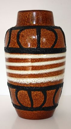 A vintage West German Scheurich Pottery by janestangerinehouse, £18.00