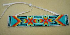Native American Beautiful Southwest Flavor Beaded by LakotaCharm