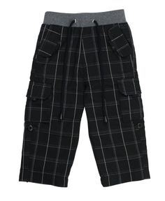 RuggedButts Black Plaid Cargo Pants | www.RuggedButts.com #RuggedButts