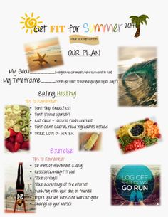 Kalyn Nicholson: get fit for SUMMER 2014 ; #fitnessfriday I want to do this