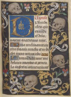 Bibliothèque de l'Arsenal, Ms-1185 réserve, f. 294r. Book of Hours, use of Cambrai (15th century)