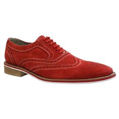 Red Suede Brogues by Giorgio Brutini. Buy for $35 from buy.com