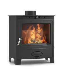 Hamlet Solution 5 Widescreen Wood Burning Multifuel Stove