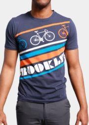 BK Retro Bike Graphic T-Shirt #Brooklyn_Industries #Bike
