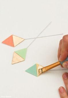 Los patrones geométricos |  las tendencias que se traduce en diseños de la torta |  por Erica OBrien para TheCakeBlog.com
