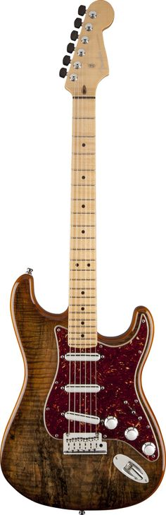 FENDER Spalted Maple Top Artisan Stratocaster® ... WOW