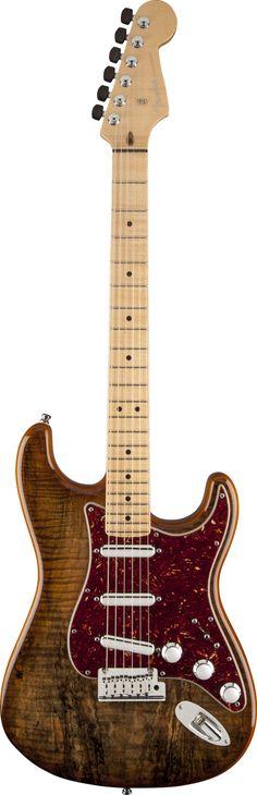 FENDER Spalted Maple Top Artisan Stratocaster®