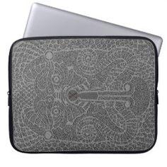Custom Abstract Dragon Laptop case graphite Neoprene Laptop Sleeve, Laptop Sleeves, Computer Case, Laptop Case, Bikers Prayer, Harley Davidson Quotes, Dragon Face, Biker Tattoos, Biker Shirts