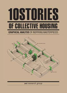 ISSUU - 10 STORIES OF COLLECTIVE HOUSING. Graphical analysis of inspiring masterpieces by a+t architecture publishers