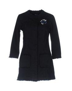LIU •JO JEANS Women's Denim outerwear Dark blue 4 US