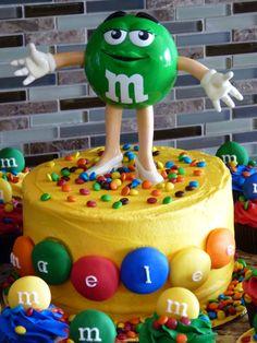 M&M cake #mimissweetcakesnbakes #m&mbirthday