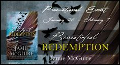 PROMO EVENT AND TEASERS: Beautiful Redemption by Jamie McGuire ~ https://fairestofall.wordpress.com/2015/02/07/promo-event-and-teasers-beautiful-redemption-by-jamie-mcguire/