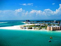 Fort Walton Beach, Florida- The Emerald Coast.Greenest Water I have ever seen Navarre Beach Florida, Fort Walton Beach Florida, Destin Florida, Florida Vacation, Florida Beaches, Vacation Destinations, Vacation Spots, Vacations, Vacation Rentals