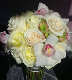 Elizabeth Wray Design- roses and orchids