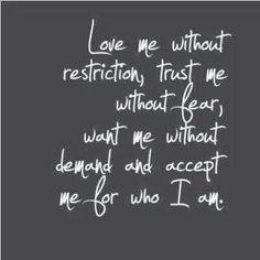 no doubt love me