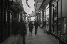 Il fascino del centro storico di Ravenna, anche in bianco e nero. Foto di Simone Masini.