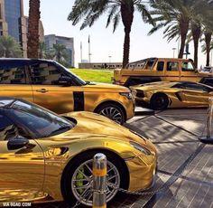 Wedding car park - Dubai