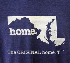 Maryland Home. Tshirt Men's/Unisex by HomeStateApparel on Etsy, $21.95