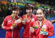 NHK上原アナ、丸めたティッシュで鼻を拭く 卓球女子銅メダルに感動し… #リオ五輪