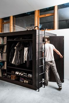 Living Cube. Awesome space-saving, multi-purpose furniture and walls.
