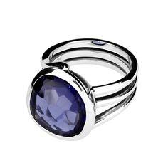 Azure Shimmerstone Ring   Ring   Jewellery   AZENDI™ Jewellery