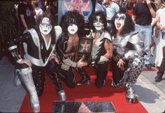 Kiss' Road to the Rock and Roll Hall of Fame Pictures - Walk of Fame | Rolling Stone