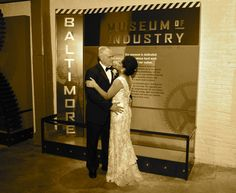 Sepia Tone at The Baltimore Museum of Industry. Congratulations Brad and Monique. Visit Your Day Wedding & lifestyle Photography at www.yourdayphotographed.com. email: yourdayphotographed@gmail.com