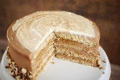 Sallys Rezepte - Haselnuss-Latte-Macchiato-Torte mit Nutellacreme