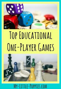 Top Educational One-Player Games | My Little Poppies  Keep your children busy, engaged, learning, and QUIET with these top educational one-player games. Your kids will build reasoning, problem-solving, and logic skills while playing. These are the best on