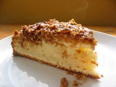 Low Sodium Sour Cream Coffee Cake