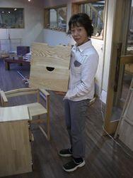 2008年11月21日 みんなの作品【引き出し・箱物】 大阪の木工教室arbre(アルブル)