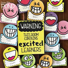 This Classroom Contains Excited Learners bulletin board or door display