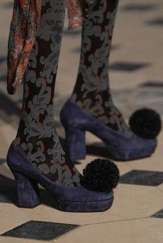 Pumps in camoscio Vivienne Westwood