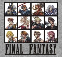 Final Fantasy: T-Shirts, Posters, Greeting Cards, Stickers, Wall Art and More   Redbubble