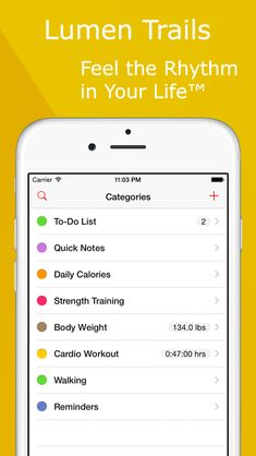 Lumen Trails - Weight Tracker & Food Plan on App Store:    Apple New Year New You Favorite  Apple App Store Staff Favorite Lumen Trails is an omni tracker. It lets you take notes make lists and keep track of other things in your life such as time workouts expenses calories food weight sleep or anything else you can think of. Thousan...  Developer: Lumen Spark LLC  Download at http://ift.tt/16ihYVV
