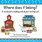 Building vocabulary and sorting skills are important in Early Childhood. This unit is designed to help students identify objects and be able to pla...