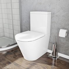 wickes trento toilet pan cistern with soft close toilet. Black Bedroom Furniture Sets. Home Design Ideas