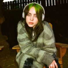 billie eilish for beats by dre Billie Eilish, Beats By Dre, Instagram Feed, Alyson Hannigan, Her Music, Green Hair, Alyssa Milano, Me As A Girlfriend, Music Artists
