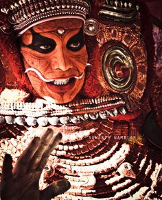 Theyyam Hindu ritual Kerala India