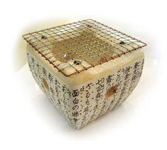 Shichirin (七厘) - a litle portable earthenware stove.